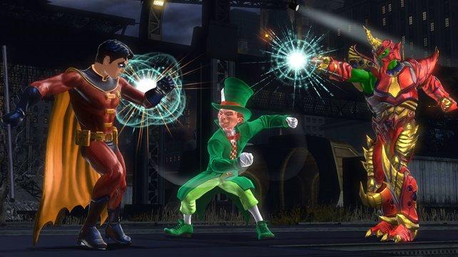 Robin steckt in Gefahr!