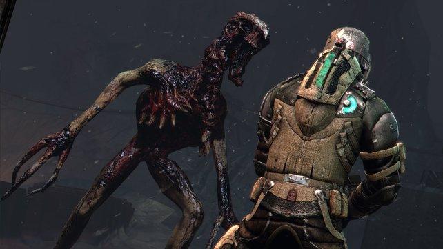 In Dead Space 3 erwarten euch neue Formen der ekligen Nekromorph.