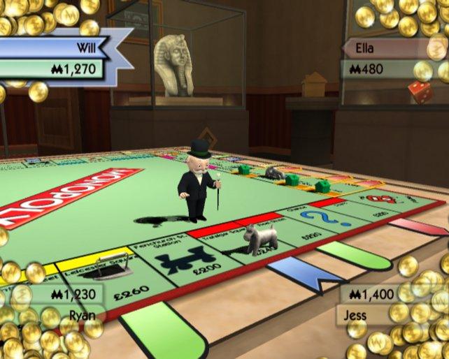 Die klassische Version erinnert stark an das Brettspiel.