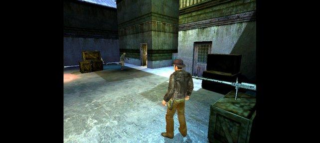 Indy eifert in Actionspielen wie Legende der Kaisergruft Lara Croft nach.