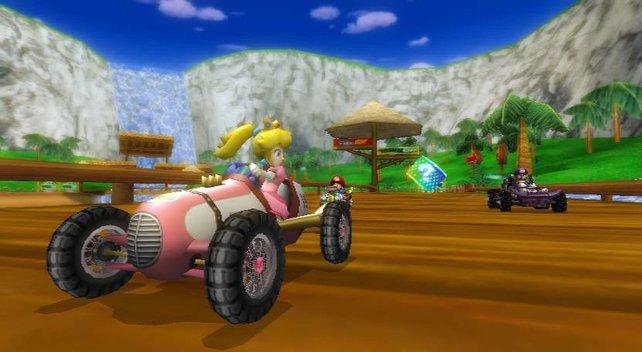 Neben unterschiedlichen Charakteren gibt es auch zig verschiedene Fahrzeuge