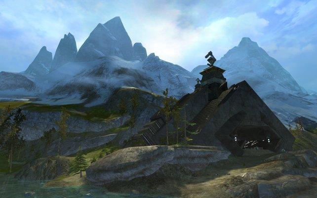 Die Welt von Guild Wars 2 ist riesengroß und wunderschön.