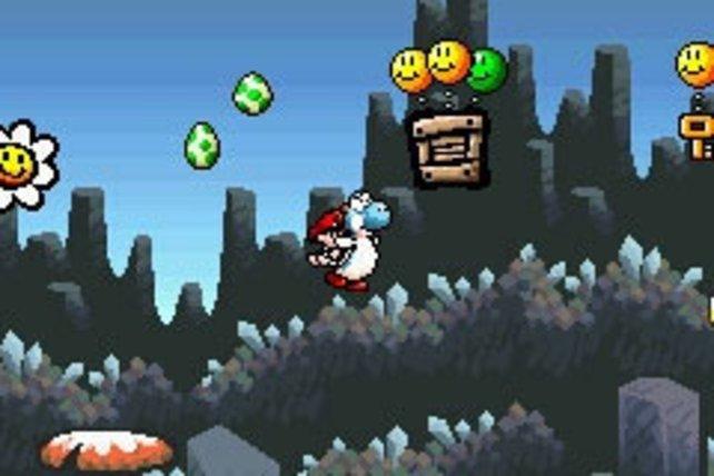 Nintendo bietet zur Entschädigung Klassiker wie Yoshi's Island auf.