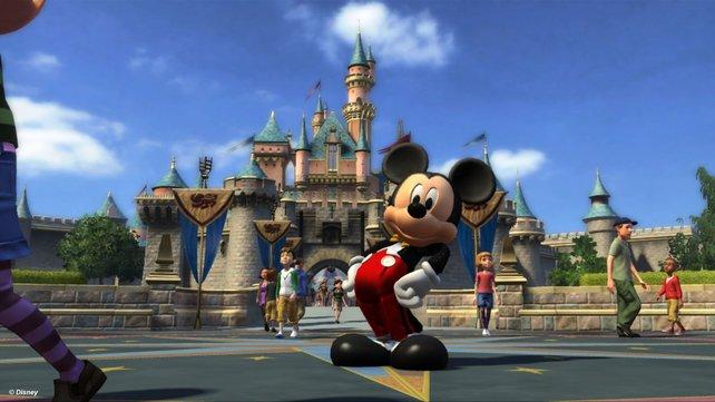 Micky und seine Freunde laden in den virtuellen Disney-Park.