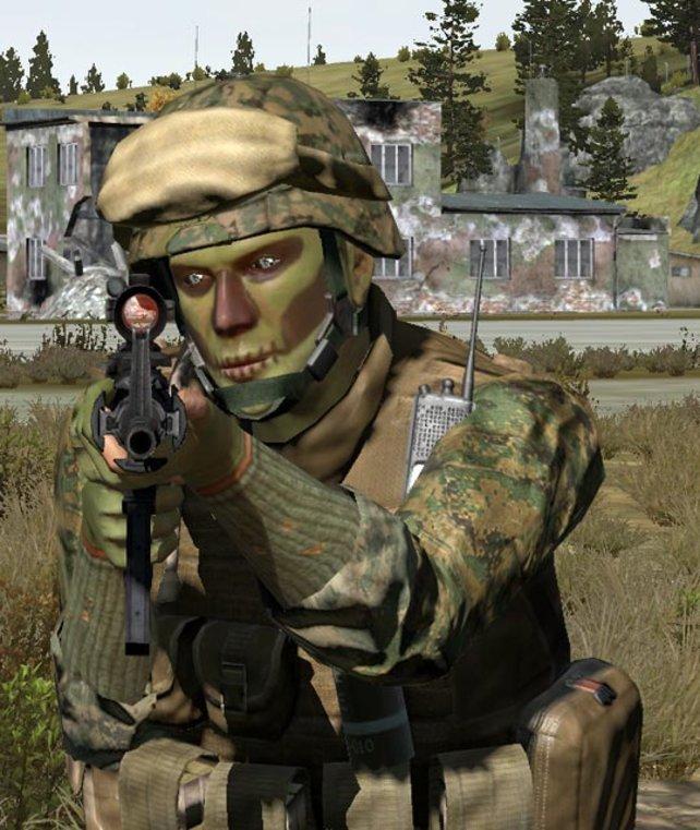Gesichtspflege ist im Krieg überflüssig!