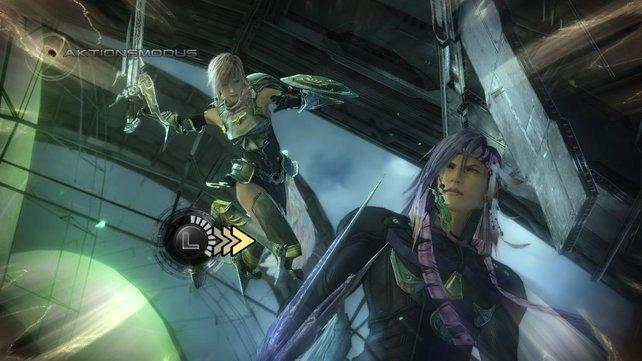 Der Konflikt zwischen Lightning und Caius ist ein weiterer Teil der Geschichte.