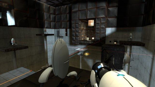 Die Räume werden im Laufe des Spieles stets komplexer und schwieriger.