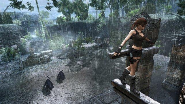 Auch im Dschungel Thailands beweist die Heldin wieder ihr Können.
