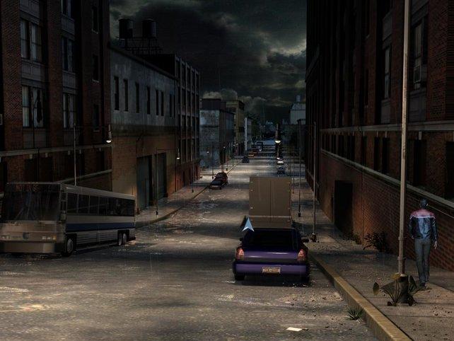 Die Straßen von Manhattan sind ausgestorben