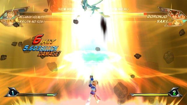 Das Spiel wurde dank spektakulärer Effekte und farbenfroher Gestaltung gekonnt in Szene gesetzt.