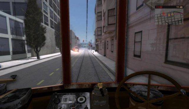 Die Straßen San Franciscos - gar nicht mal so hässlich, wenn man das Genre bedenkt.
