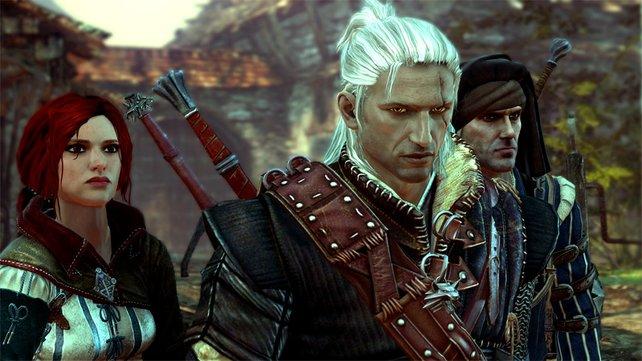 Geralt und seine Verbündeten.