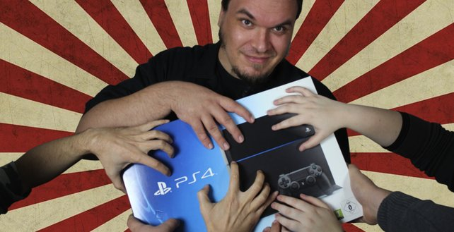 PS4 zu verschenken!