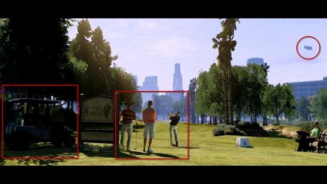 In GTA 5 könnte es ein neues Golf-Minispiel geben.