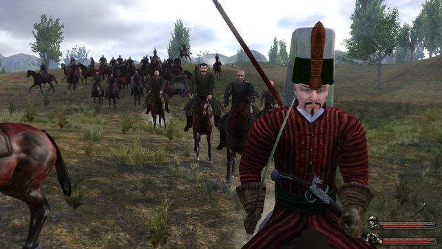 Ihr reitet mit eurer Armee in die Schlacht. Ein Wahnsinns-Gefühl!