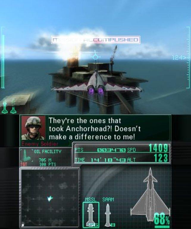Die Bohrinsel ist schwer bewaffnet - ein leichter Sieg wird das nicht!