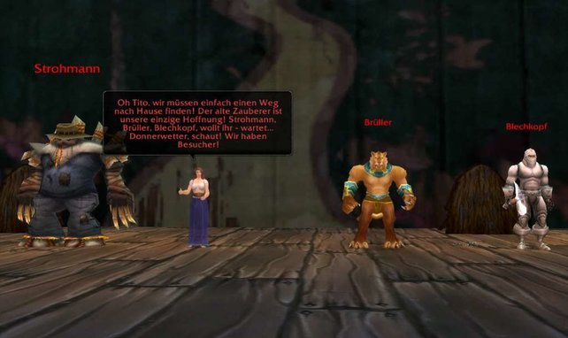 Im Theater spielt ihr neben Romeo und Julia und Rotkäppchen auch Der Zauberer von Oz nach.
