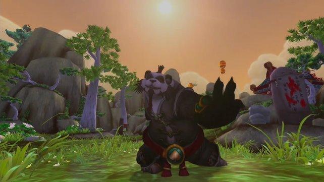 Die Pandaren sind die neue Rasse in World of Warcraft - Mists of Pandaria.