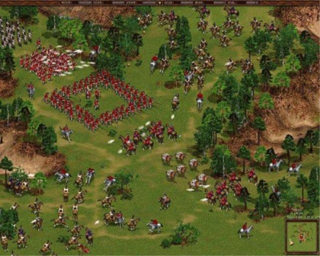 Die Spezialität von Cossacks - Massenschlachten