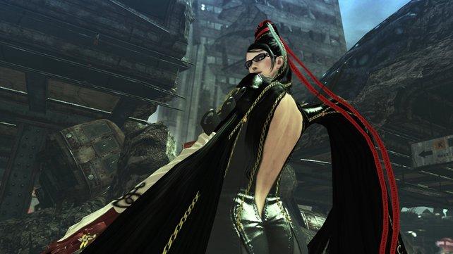Überraschung: Unter den spielbaren Charakteren findet ihr auch Bekannte - wie die Hexe Bayonetta.