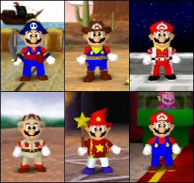 In Mario Party 2 kostümieren sich die Charaktere passend zu jedem Spielbrett - ein erster Versuch der Auflockerung.