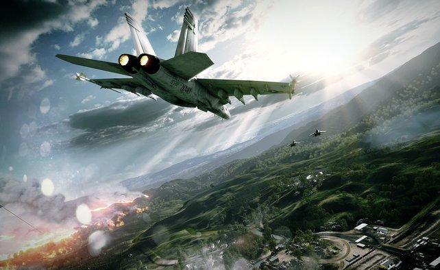 In Mehrspieler-Schlachten könnt ihr Flugzeuge steuern.