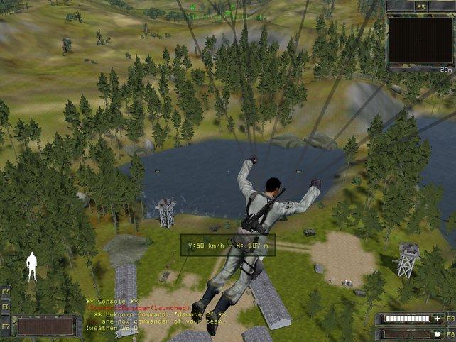 Fallschirmspringen is ebenfalls möglich.