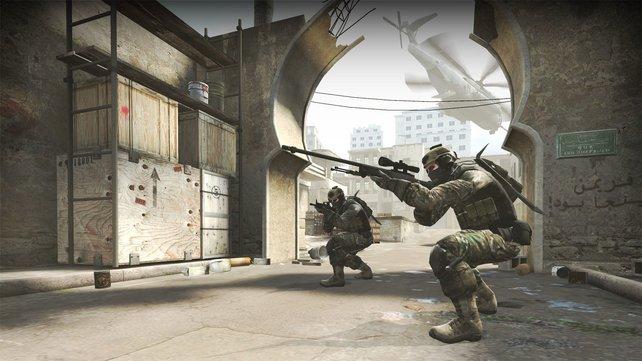 Globalk Offensive beruht auf der Selben Engine wie Counter Strike: Source.