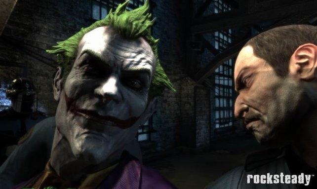 Grinsebacke Joker (links) ist natürlich mit von der Partie.
