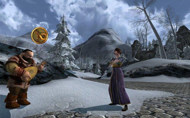 Alles, was das Rollenspiel-Herz begehrt, findet ihr in Herr der Ringe - selbst einen Barden.