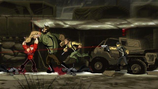 Shank 2 ist trotz Comic-Grafik ein knallhartes Spiel.
