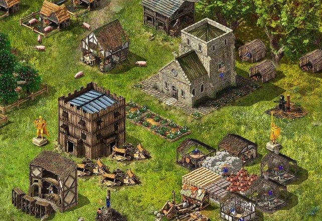 Erichtet ein Dorf mit florierender Wirtschaft - mit der Special Edition kürzt ihr Zeit ab.