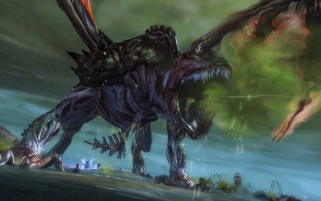 Drachen sind die großen Bösewichte in Guild Wars 2.