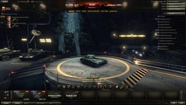 Ist das ein Spielzeug? Wer dem ELC AMX einmal im Gefecht gegenüberstand, wird ihn dennoch fürchten.
