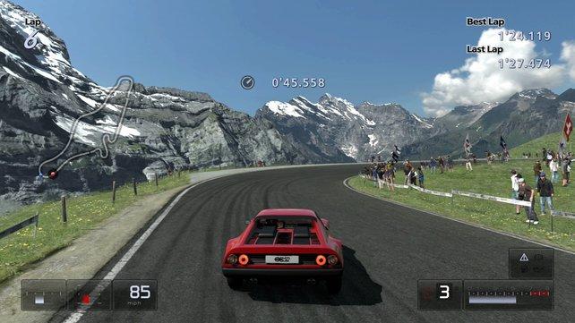Der Prologue-Teil ersetzt das vormalige Gran Turismo HD.