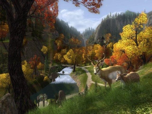 Wunderschöne Landschaften sind das Markenzeichen von Mittelerde.