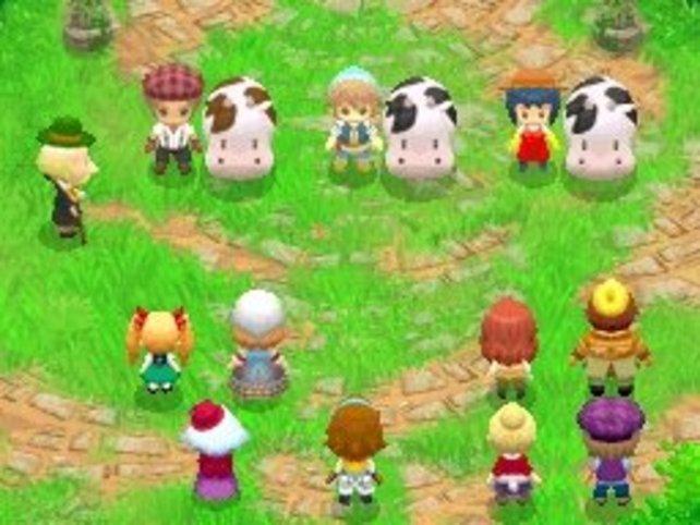 In Wettbewerben beweist ihr euer Talent als Viehzüchter oder Ackerbauer.