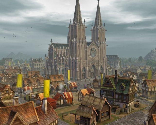 Die Grundlage: Das gezeigte Anno 1404 aus dem Jahr 2009 diente für Gebäude als Inspirationsquelle.