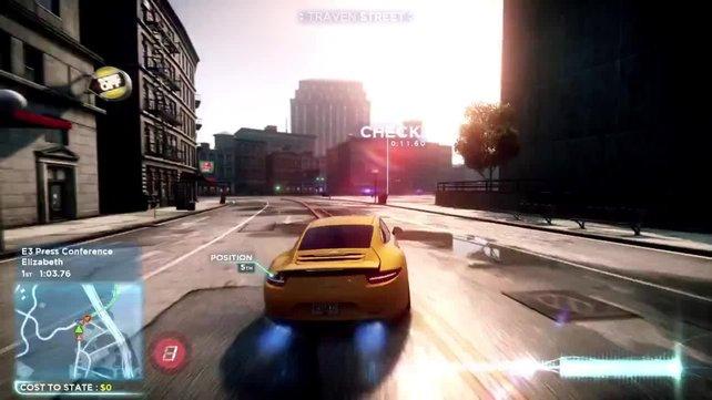 Ein spektakuläres Autorennen für PS Vita.