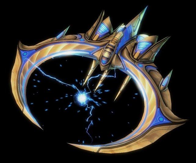 Tempest-Gleiter der Protoss könnten künftig die Lüfte dominieren.