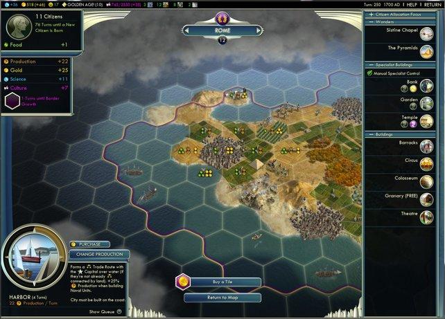 Einheiten verschieben wir jetzt neu auf einer Karte mit Hexfeldern.