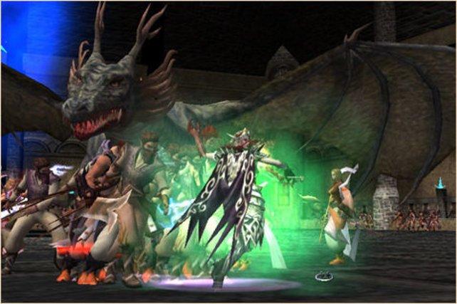 Gemeinsam mit eurer Gilde könnt ihr die gefährlichen Drachen besiegen!
