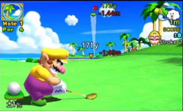 Hindernisse könnt ihr umgehen, indem ihr einen Bumerangball schlagt.
