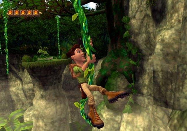 Comeback nach fünf Jahren: Pitfall Harry schwingt wieder durch den Dschungel.