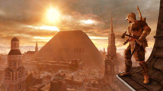 Die Pyramide zeugt vom Größenwahn des fehlgeleiteten Königs.