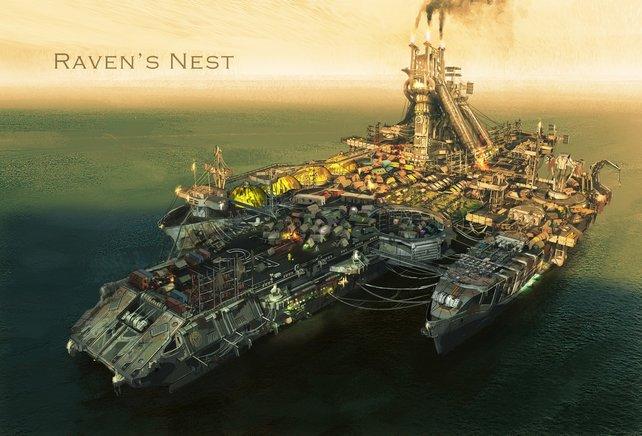 Das Raven's Nest - eine der letzten Zufluchtsstätten der Menschheit.