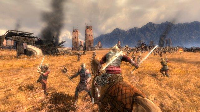 Verschiedene Klassen, verschiedene Fähigkeiten: Rohans Ritter fühlen sich im Sattel am sichersten