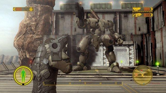 Das jüngste Front Mission ist ein Actionspiel.