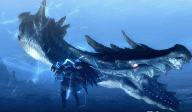 Die eindrucksvollsten Urviecher gibt's immer noch bei Monster Hunter.