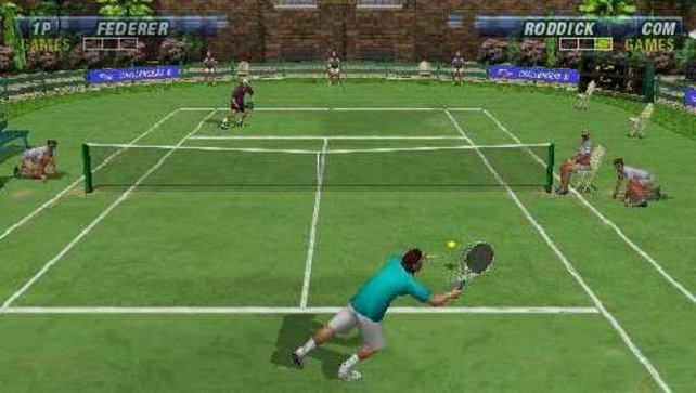 Wie einst Becker in Wimbledon